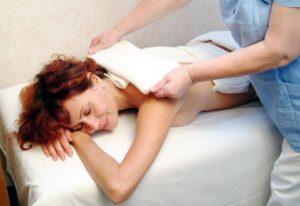 Лечение спины Компресс при боли в спине