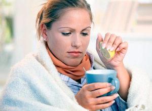 Вода при лечении гриппа