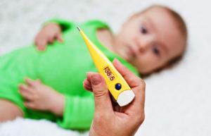Снижение температуры у младенца дома