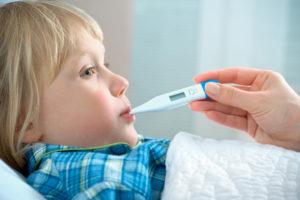 Снижение температуры у ребенка дома