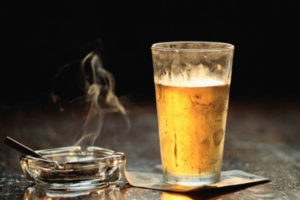 Курение и алкоголь желудок