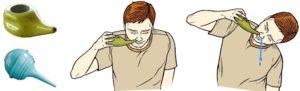 Промывание носа гайморит