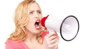 Повредить голос может сильный крик