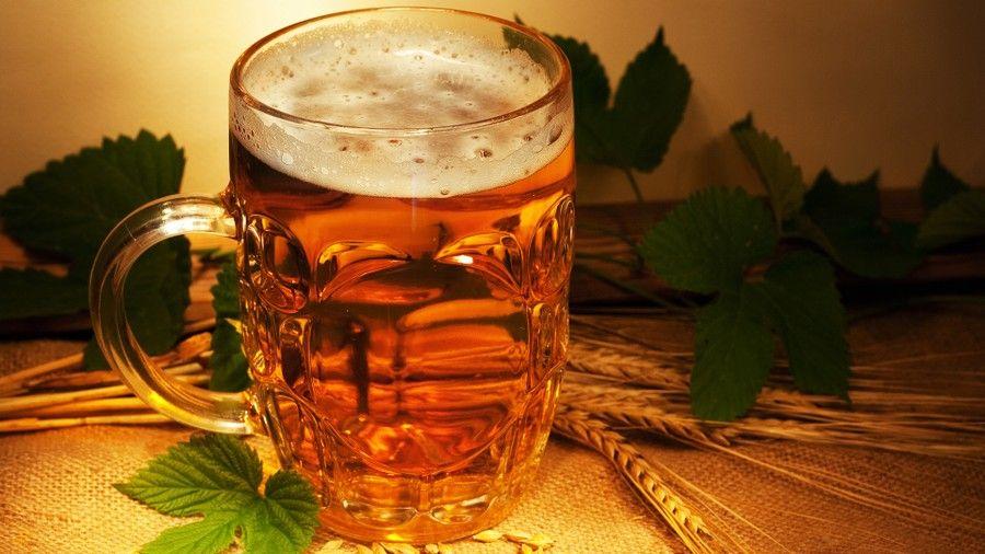 ангина пиво