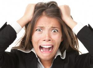 Причины выпадения волос стресс