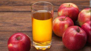 Папилломы вокруг глаз сок кислого яблока