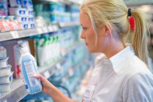 Выбирайте обезжиренное молоко