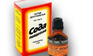 Йод с содой лечение десен