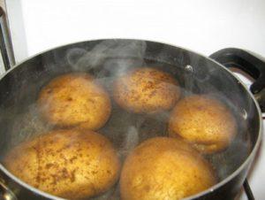 от кашля паровые ингаляции с картофелем