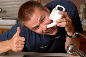 солевым раствором Промывание носа при насморке