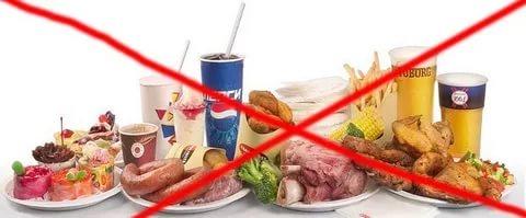 При диабете откажитесь от некоторых продуктов