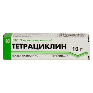 Мазь тетрациклин для лечения лишая