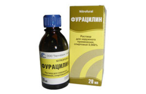Фурацилин помогает при флюсе