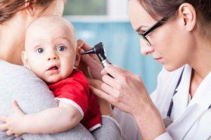 заболевание ушей у грудничков