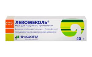 Левомеколь поможет быстро снять симптомы флюса