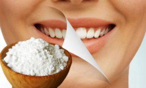 Сода простое и эффективное средство от налета
