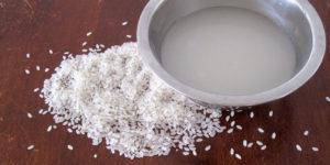 Рисовый отвар при диарее