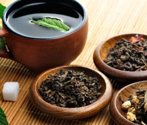 Крепкий листовой чай при диарее