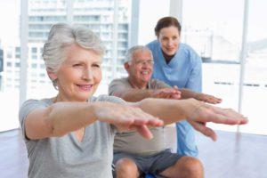 Восстановление больных после инсульта